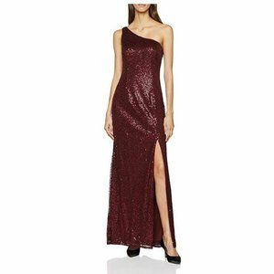 Adrianna Papell 6 Deep Wine Evening Gown NWT BC17